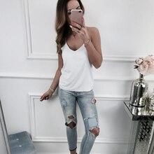e94c86a0b1 2018 Casual Sleeveless Lace Tank Tops Black White Vest Summer Womens V Neck  Satin Silk Camis