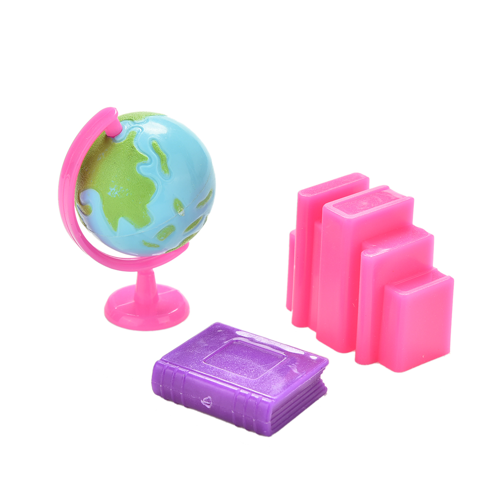 Toys For 6 : Pcs dolls accessories kids gifts doll globe book