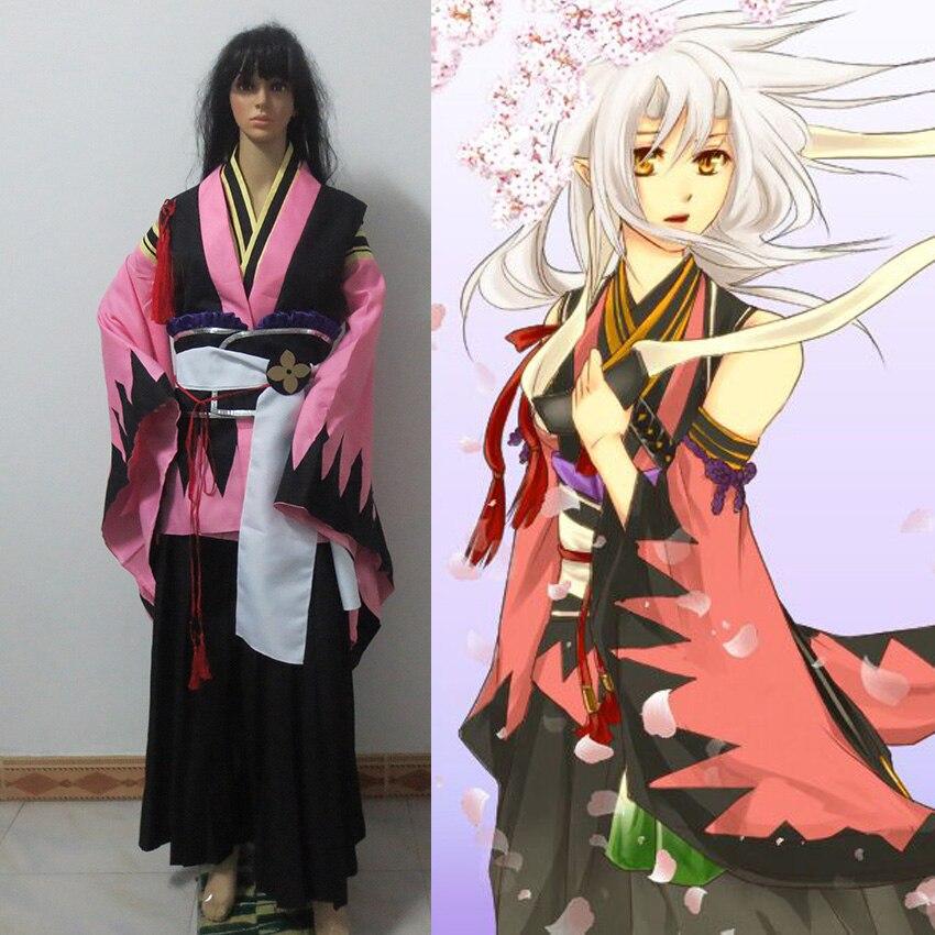 Costume de Cosplay Chizuru Yukimura Hakuouki Shinsengumi Kitan sur mesure