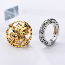 Астрономический шар кольцо открытый медальон космический палец кольцо пара Любовник Ювелирные изделия Подарки для женщин мужские аксессуары
