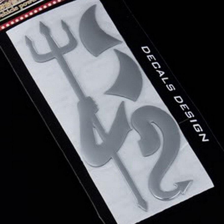 1 Pz Carino Stile Del Diavolo 3d Demone Adesivi Per Auto Emblema Auto Logo Car Styling Decorazione Della Carta, Autoadesivo Di Marchio Dell'automobile Di Vendita Caldo