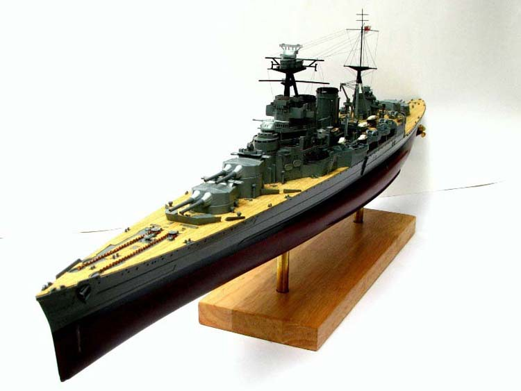 1:350 Scale HMS Hood UK Royal Navy warship Trumpeter