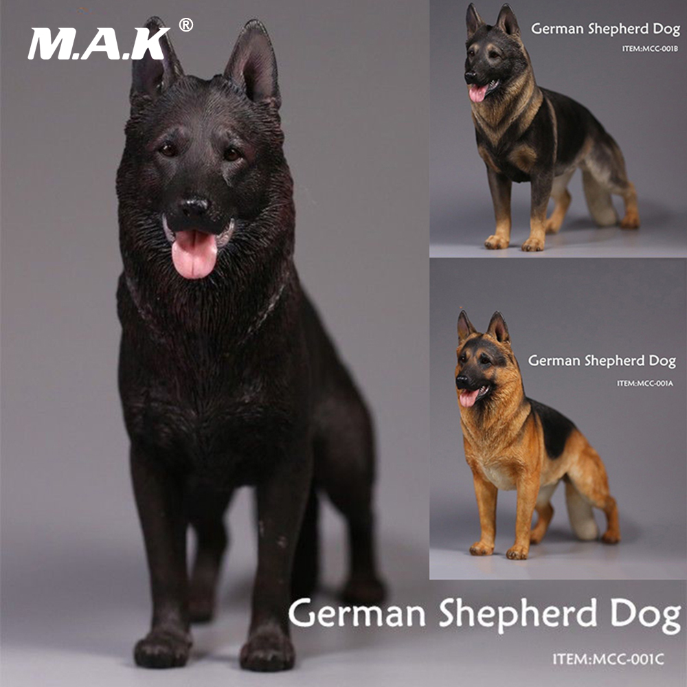 1/6 Ölçek Şekil Aksesuarları Siyah/Kurt Mavi/Siyah Sarı 3 Renkler Alman Çoban Köpek Eğitim Pet Köpekler Modeli tipi