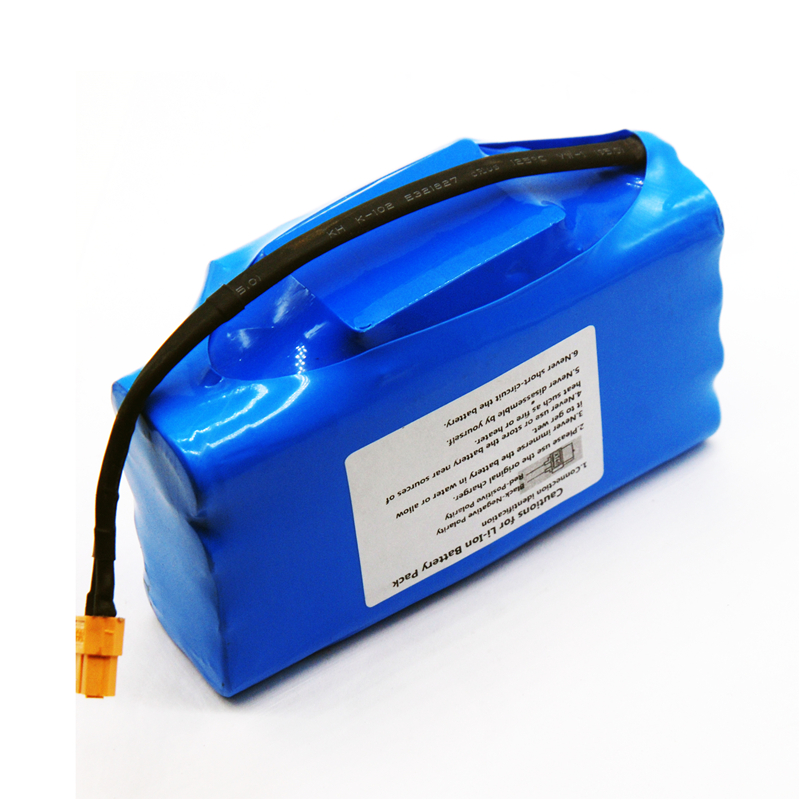 liitokala 36V 4.4Ah high drain 2 wheel electric scooter self balancing lithium battery pack