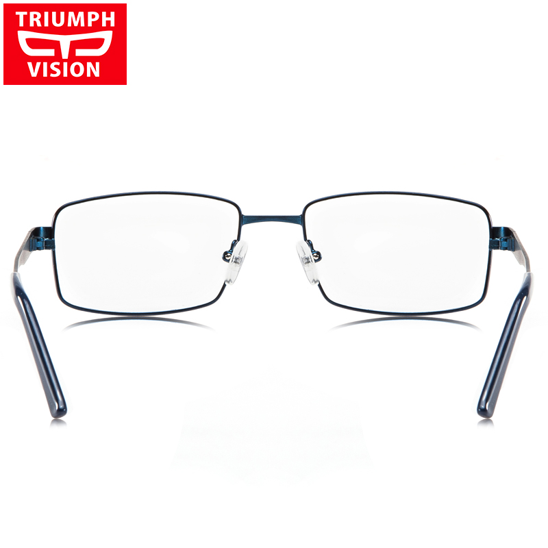 Rezept Hohe C4 Metall Platz Vision Lesebrille Computer Brillen Männer Triumph Myopie Für Qualität Blau w4IOzZqq7