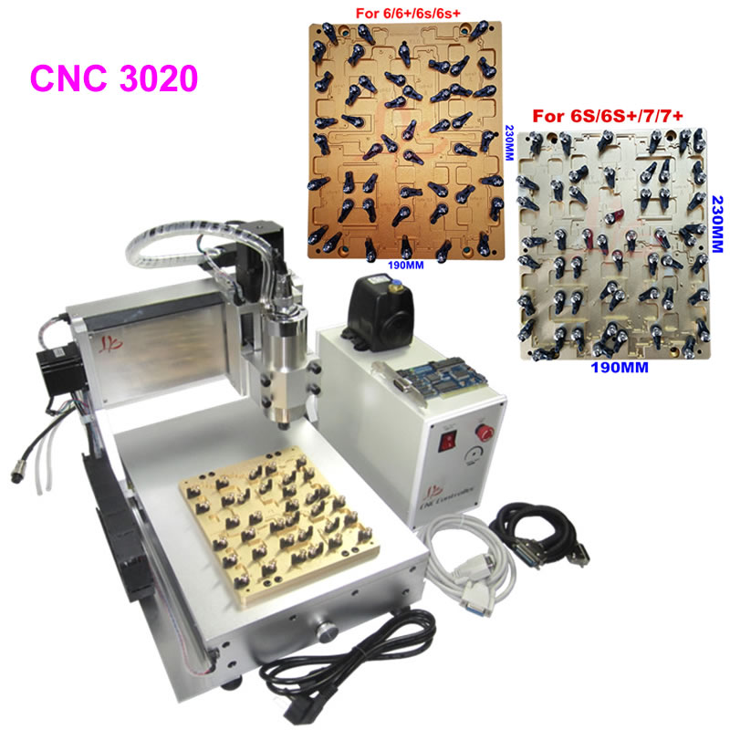 IC CNC Router Chips Milling Polishing Engraving Machine with 3pcs Mould for iPhone 4 4s 5 5s 5c 6 6+ 6s 6s+ 7 7 plus Repair бесплатная доставка ic интегральной схемы max3238ecpwr ic rs232 3 в 5 5 в drvr 28 tssop 3238 max3238 3 шт