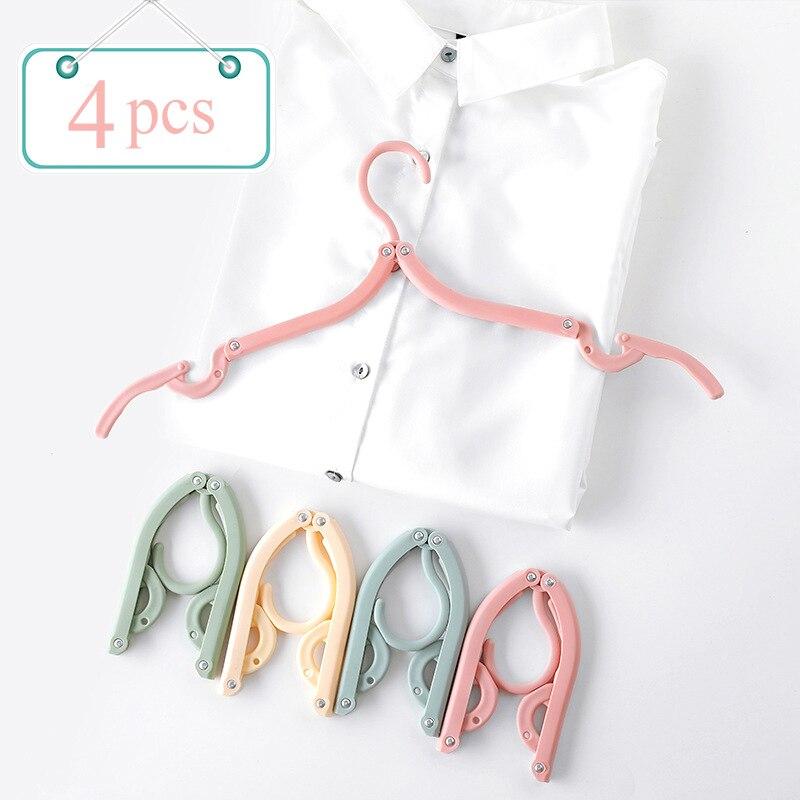 Luluhut многофункциональная пластиковая вешалка для одежды для путешествий Экономия пространства Женская креативная вешалка для одежды Детская вешалка