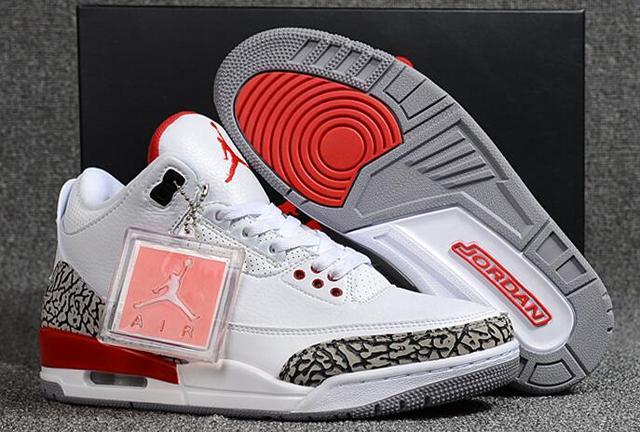 206e1a6c0e75a1 JORDAN Air Retro 3 Basketball Shoes Low Help JORDAN Sneakers Men Basketball  Shoes Jordan 3