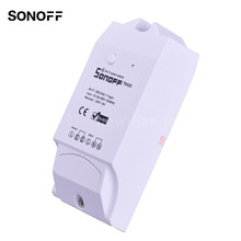 Sonoff Sensible Residence Sonoff TH10 WiFi Sensible Swap 10A Temperature and Humidity Sensor Distant Controller