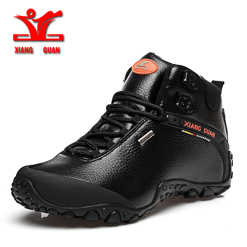 xiangguan 2017 Climbing boots men outdoor hiking shoes for men anti slip sport shoes resistant Sneaker men trekking shoes men men