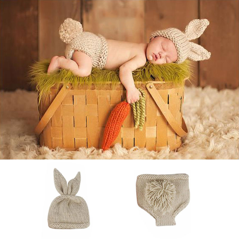 Newborn Baby Boy Girl Clothes Rabbit Puppy New Born Bebes Infant Clothing Boys Bebe Carters Outfit Babies Set For Girls