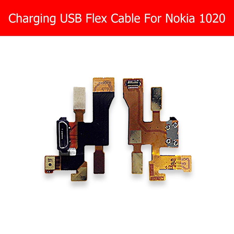100% Genuine <font><b>USB</b></font> Charger Flex Cable For <font><b>Nokia</b></font> <font><b>1020</b></font> Charging <font><b>Usb</b></font> Connector Flex Cable For Microsoft <font><b>Lumia</b></font> <font><b>1020</b></font> <font><b>USB</b></font> Jack Dock <font><b>port</b></font> image