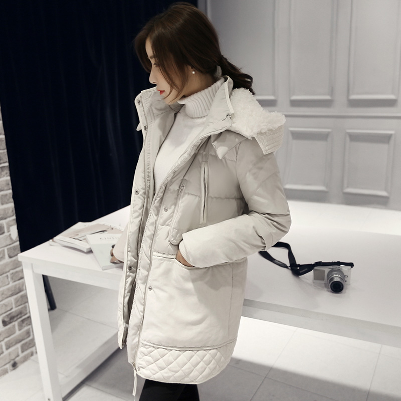Fitaylor Winter Women Jackets Cotton Padded Hooded Coat Medium Long Plus Size   Parkas   Female Outwear Warm Jacket Wool Clothing