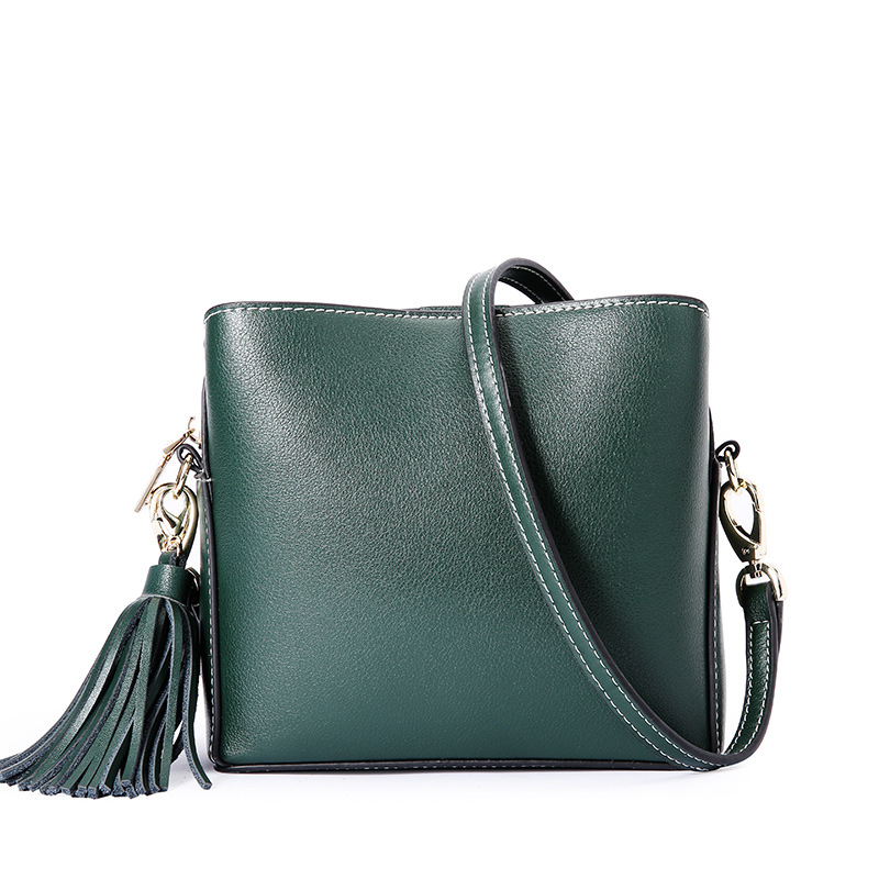 2019 Spring And Summer New European And American Fashion Genuine Leather Handbags Popular Female Simple Shoulder