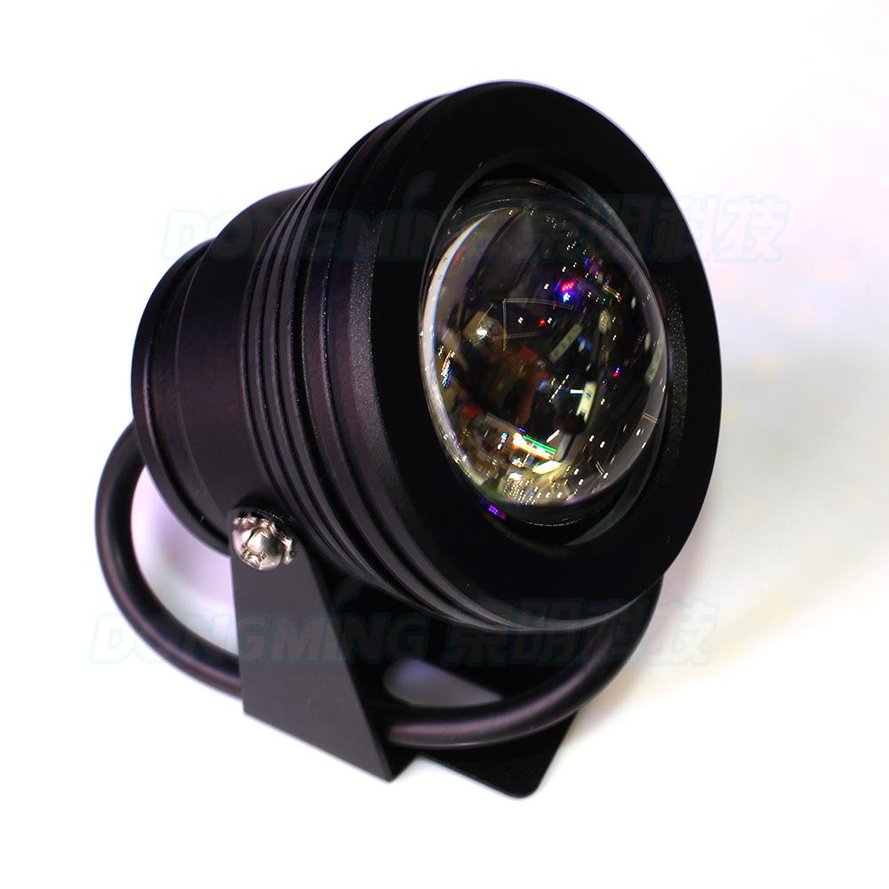New product black body Convex Lens underwater led light Warm White/Cool White pool lights float 10W DC12V