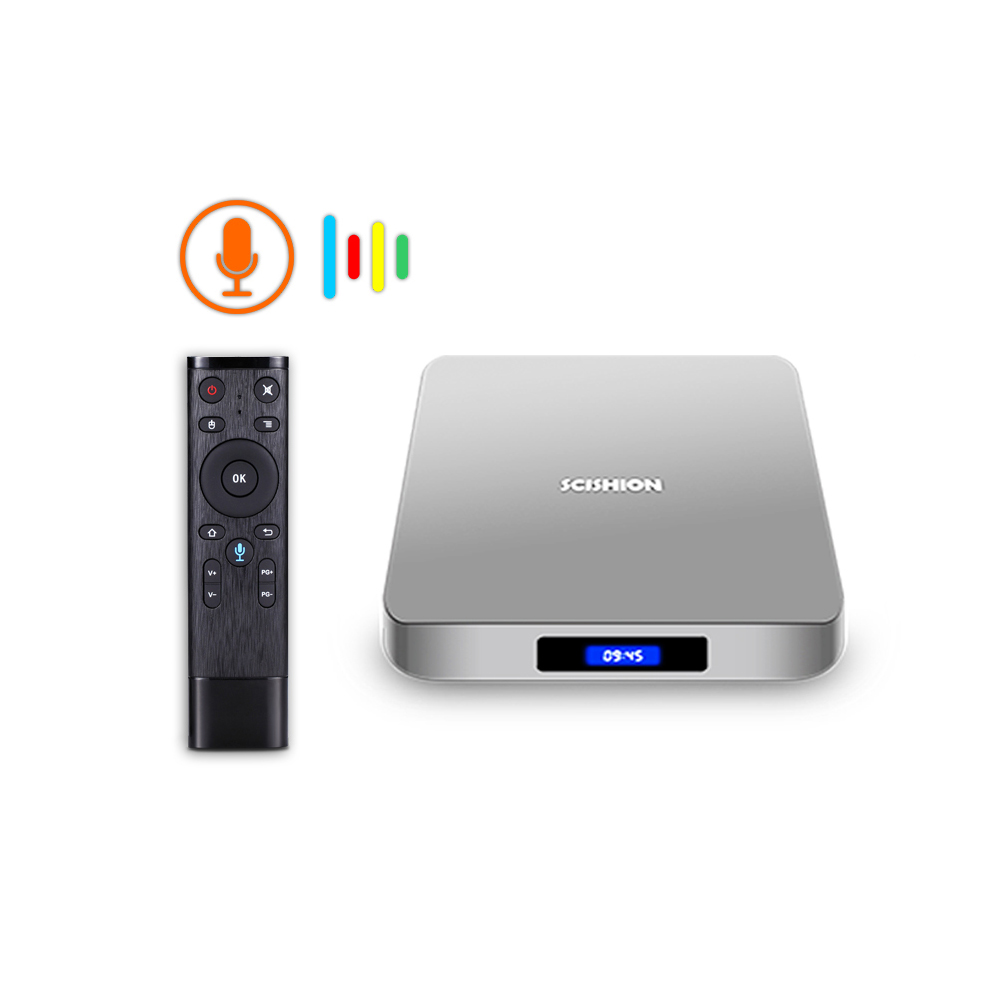 Android 9 0 Smart TV Box with Voice Control Ram 4GB Rom 32GB WIFI Bluetooth Support