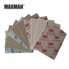 MAXMAN 3 Piece 3m Sponge Sandpaper 600# 800# 1000# Grinding and Polishing Wire Drawing Abrasive Tool Accessories Hand Polished