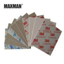 Губчатая наждачная бумага maxman 3m 3 шт 600 #800 #1000 # абразивный