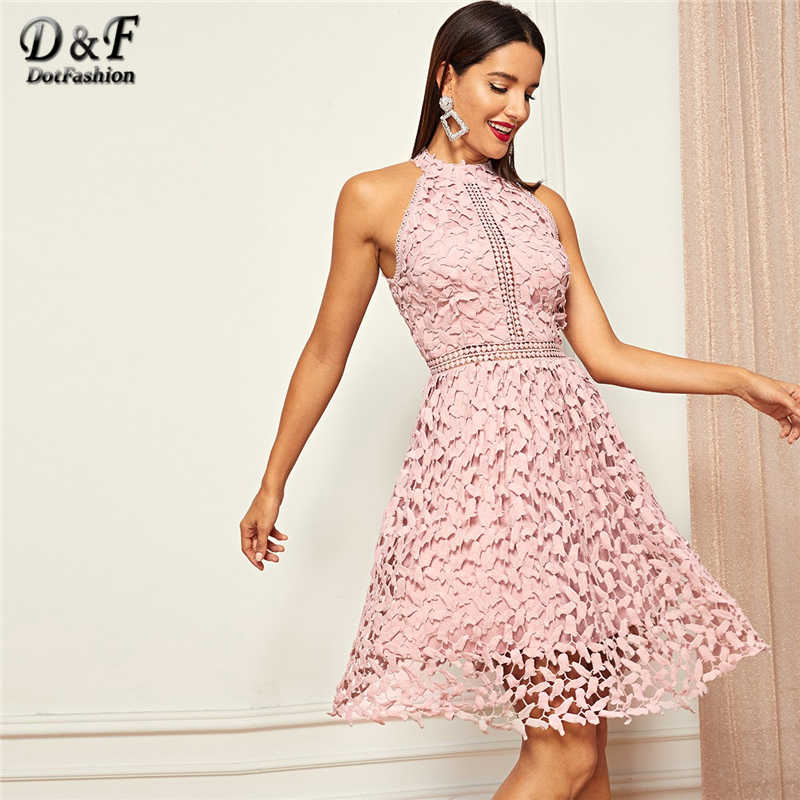 6a83c445a8b12 Dotfashion Contrast Wing Back Cami Sexy Dresses Party Night Club ...