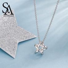 Bintang Perhiasan Liontin Jaringan