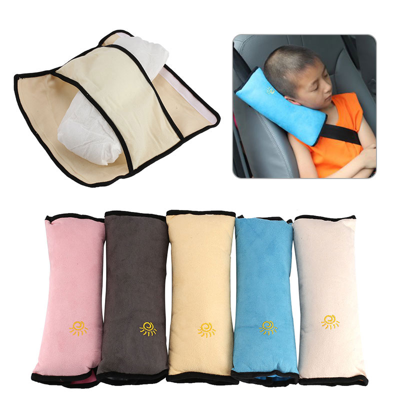 2018 Baby Car Pillows Auto Safety Seat Belt Vehicle Shoulder Cushion Pad Harness Protection Support Pillow Seat Belts For Kids