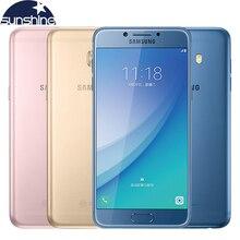 Оригинальный Samsung Galaxy C5 Pro C5010 4 г LTE мобильный телефон 4 г Оперативная память 64 г Встроенная память fingertprint Восьмиядерный 5.2 '16.0MP NFC Смартфон