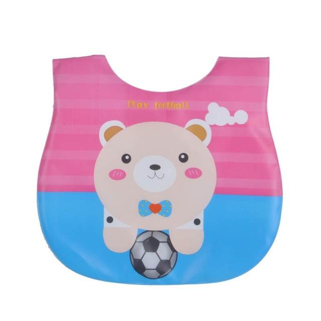 Baby Bibs Eva Waterproof Cartoon Children Bibs Infant Burp Cloths