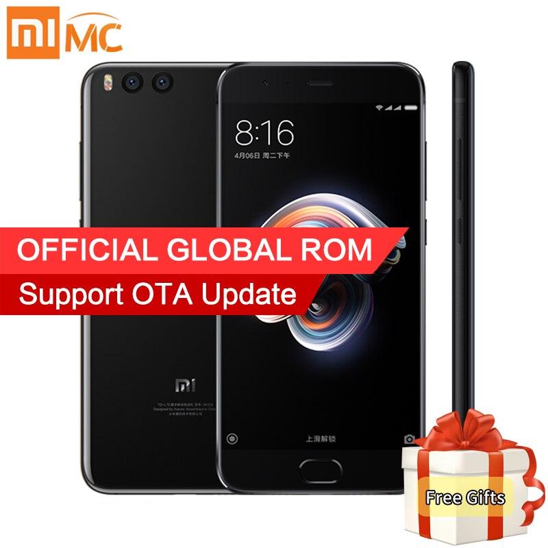 Original Xiao mi nota 3 teléfono móvil 6 GB RAM 64 GB ROM Snapdragon 660 Octa Core 5,5'' 1080 p 16MP cámara frontal cara reconocimiento