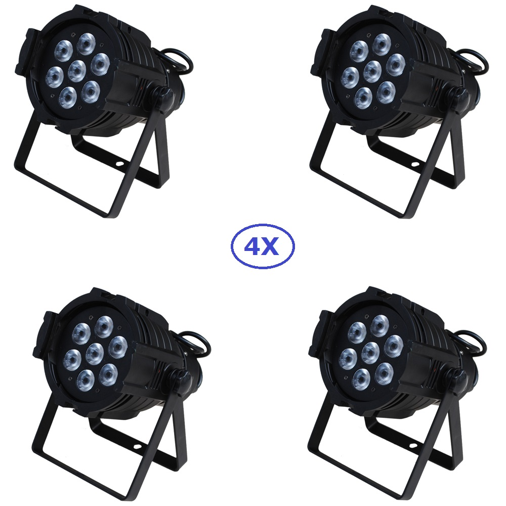 4xLot Free Shipping 7x15W RGBAW 5IN1 Mini LED Par DMX Light 7x 15-watt High Power 5-in-1 RGBWA Par LED DJ Disco DMX Stage Lights panasonic es rf31 s405 электробритва