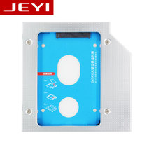 Jeyi e27 universal 2.5 '2nd 12.7mm ssd hdd sata odd caddy para 12.7mm Altura CD DVD ROM UltraBay Optical Cuatro tornillos Nuevo versión