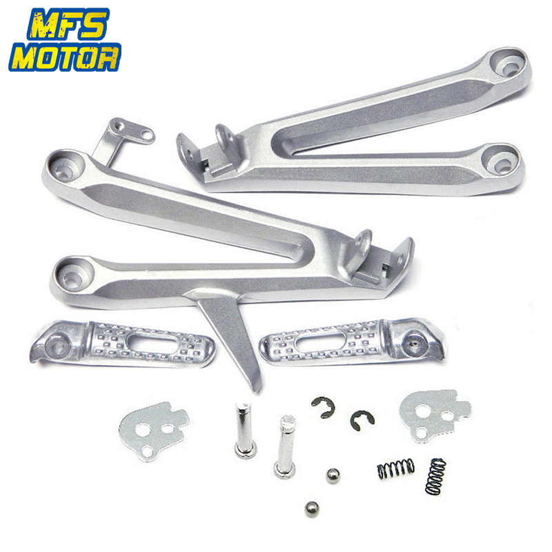 Front Footrests  Foot Pegs FootPegs for Honda CBR600RR 2007-2014 2008 09 10 11