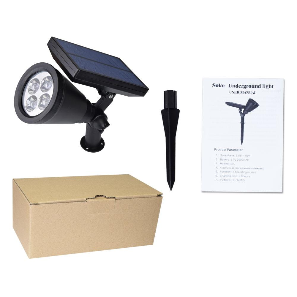 Solar LEVOU Luz PIR Sensor de Movimento