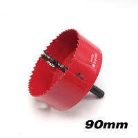 90mm 3 54 Bi Metal Wood Hole Saws Bit For Woodworking DIY Wood Cutter Drill Bit