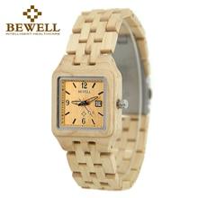 BEWELL moda mujer relojes mujeres relojes montre femme modo vrouwen horloges damski horloge zegarek 2017 dames horloge 130A