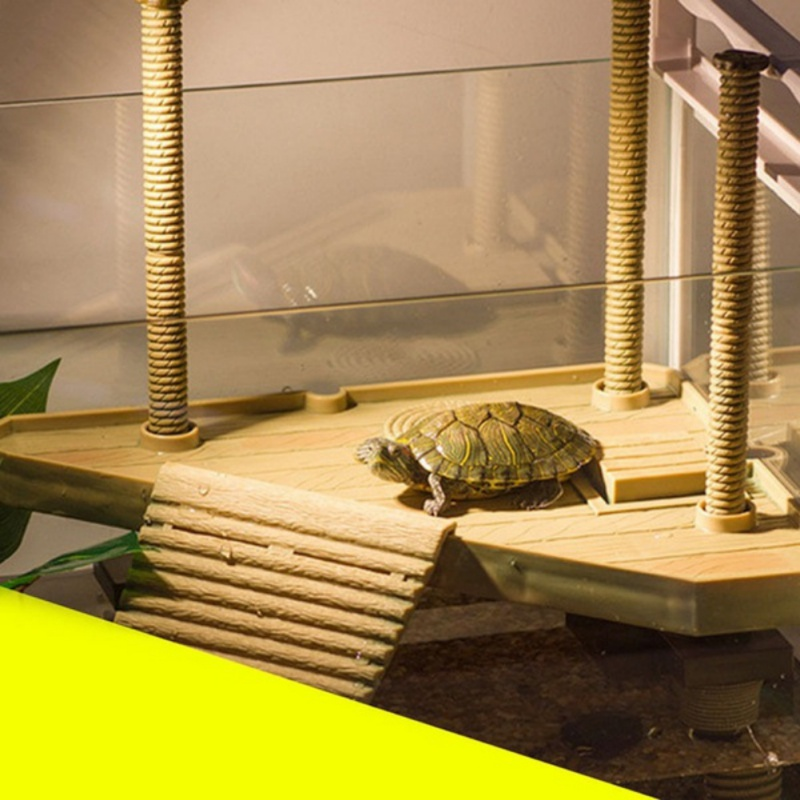 Multi-Functional Turtle Drying Back Platform Climbing Perch Floating Platform
