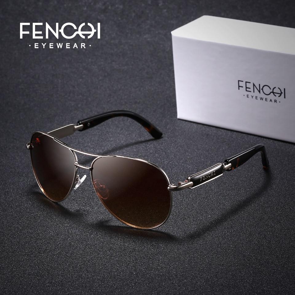 FENCHI Polarized Sunglasses Women Vintage Brand Glasses Driving Pilot Pink Mirror sunglasses Men ladies oculos de sol feminino 2