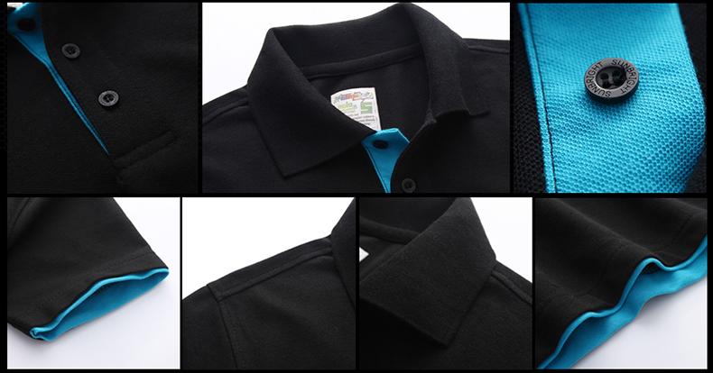 URSPORTTECH Men's Polo Shirt For Men Desiger Polos Men Cotton Short Sleeve shirt Clothes jerseys golftennis Plus Size XS- XXXL 38