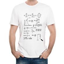9ea88f0fe9955 2018 Mais Novo Criativo Engraçado A Matemática Design Impresso T-shirt  Ocasional dos homens Hipster Streetwear Camiseta Verão Fr..