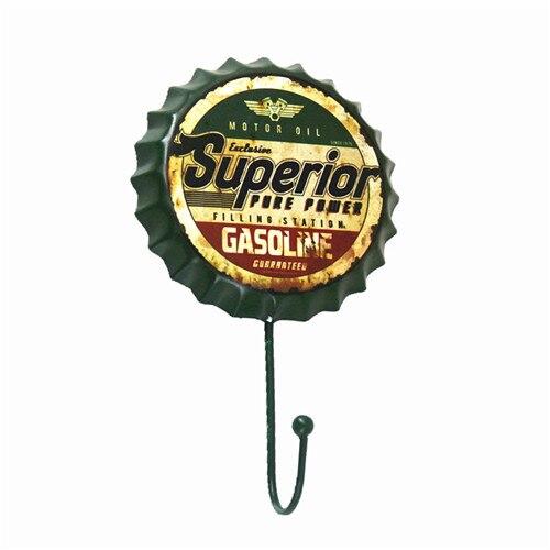 Superior Gas Oil Beer Bottle Cap Hook Rat Rod Stickers Beer Cafe Bar Art  Decor Garage Wall Art Clothes Hook In Plaques U0026 Signs From Home U0026 Garden