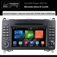 Android 6.0 Auto DVD GPS Radio Stereo voor Mercedes Benz Klasse W245 W169 Viano/Vito/Sprinter