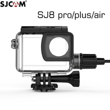 Original SJCAM SJ8 Pro/plus/Air Motorcycle Waterproof Case for SJ8 Charging Case Charger Housing Camera Accessories Clownfish