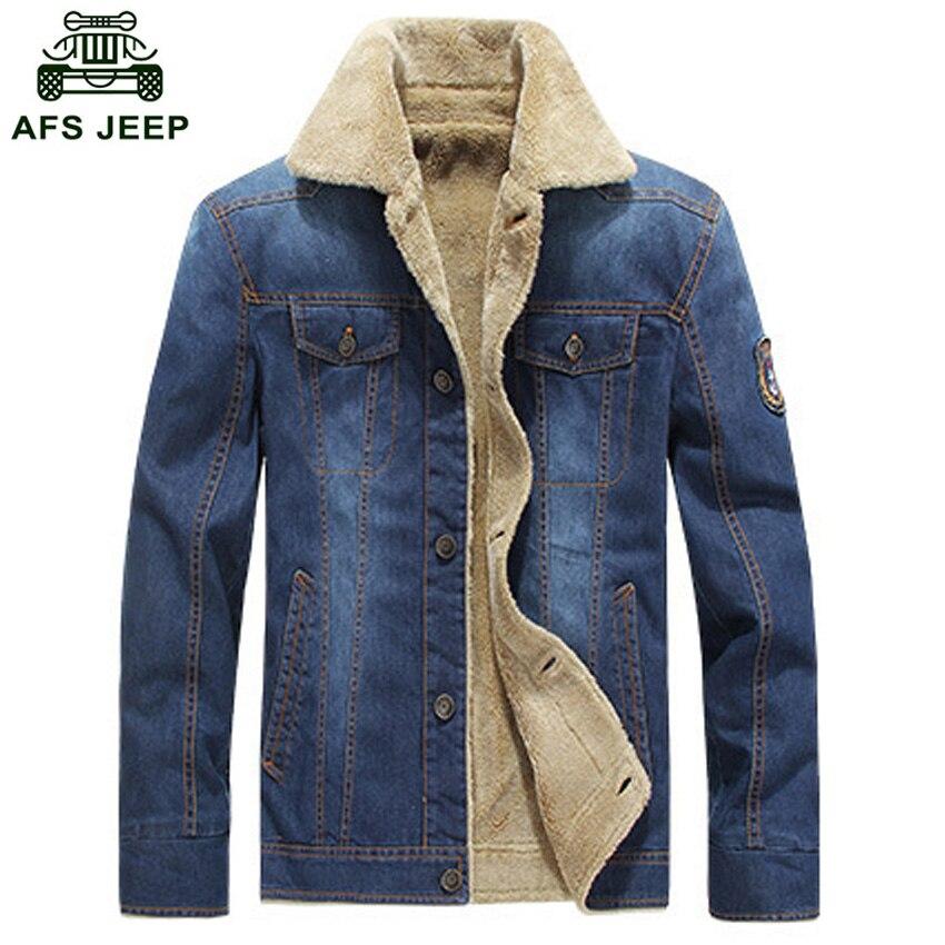 Free Shipping New Arrival Men's Winter Denim Jacket 2017 Casual Denim Jacket Fashion Men's Fall Outwear Coat 145hfx