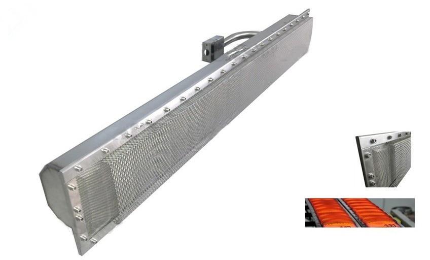 2019 스테인레스 메쉬 가스 적외선 버너 비 세라믹 가스 버너 산업 내구성 사용 버너