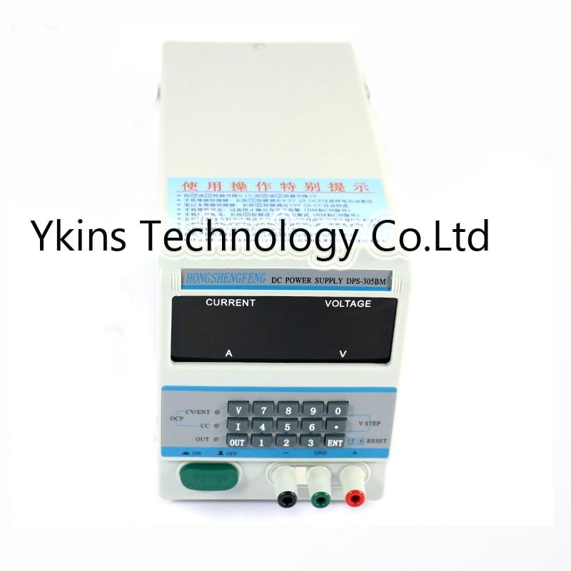цена на DPS-305BM/DPS305BM 4Ps Display 220V/110V Lab Programmable DC Power Supply 30V 5A for laptop repair