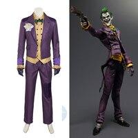 Hero Catcher Batman Arkham Knight Joker cosplay costume batman costume adult cosplay Batman Joker costume custom made