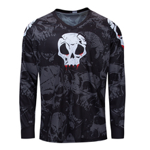 Men downhill jersey 2019 Long sleeve motocross shirt Sport DH wear funny cycling clothes mountain bike clothing MTB bicycle top