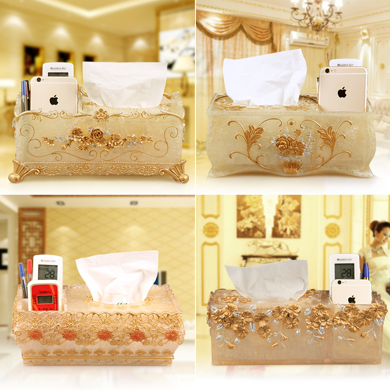the living room, a simple desktop paper towel box, toilet paper, sanitary towel, household multifunctional tissue box