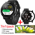 7in1 Huami Amazfit Stratos 2 pace strap Smart Watch Silicone band+TPU case cover huami amazfit Pace 2 screen protector film