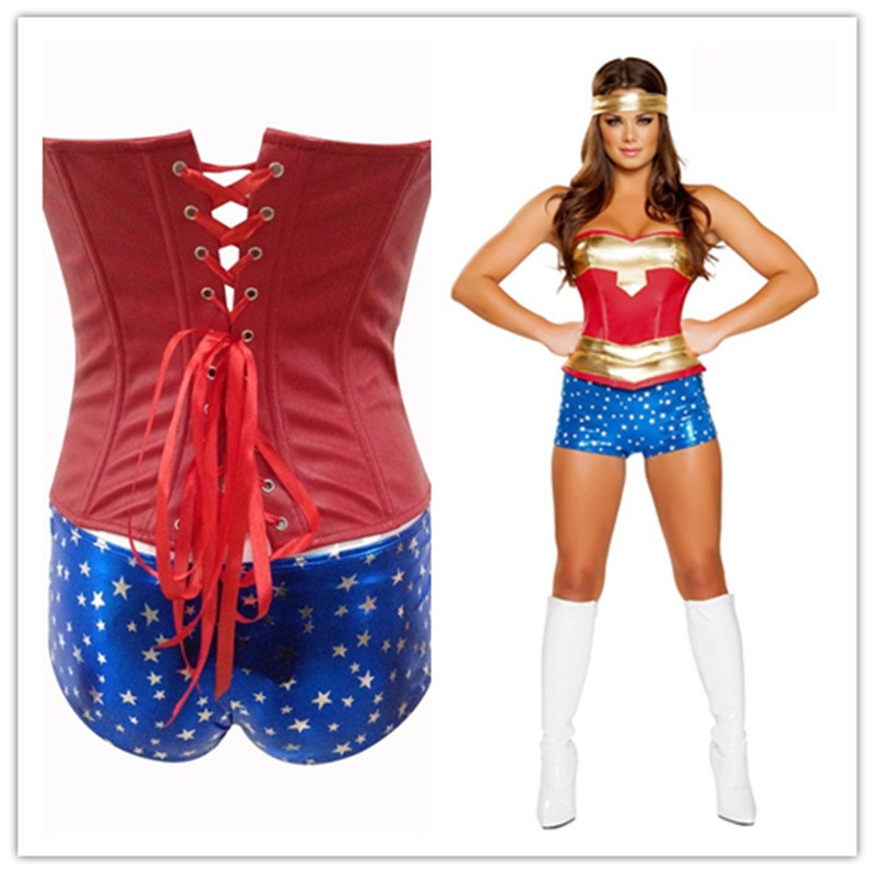 Sexy Funny Wonder Woman Superwoman Costume For Women Cosplay Adult Comics Superhero Halloween Costumes Ladies Accessories Girl On Aliexpresscom -3350