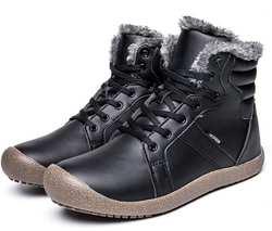 Бестселлер! Теплые зимние сапоги мужская обувь уличная спортивная обувь женская Нескользящая повседневная обувь непромокаемые кожаные